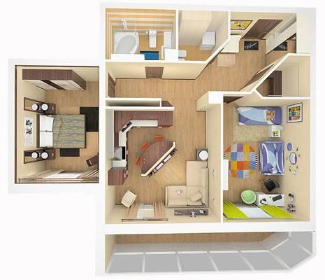 Квартиры с улучшенной