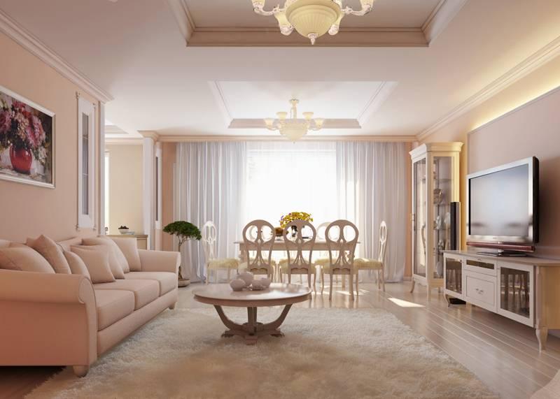 Квартиры классика дизайн