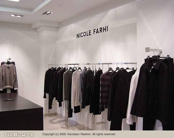 Название: Бутик английской одежды.  Дизайн интерьера Описание: На стене...