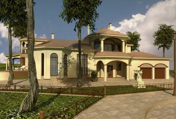 Эскизный проект дома в