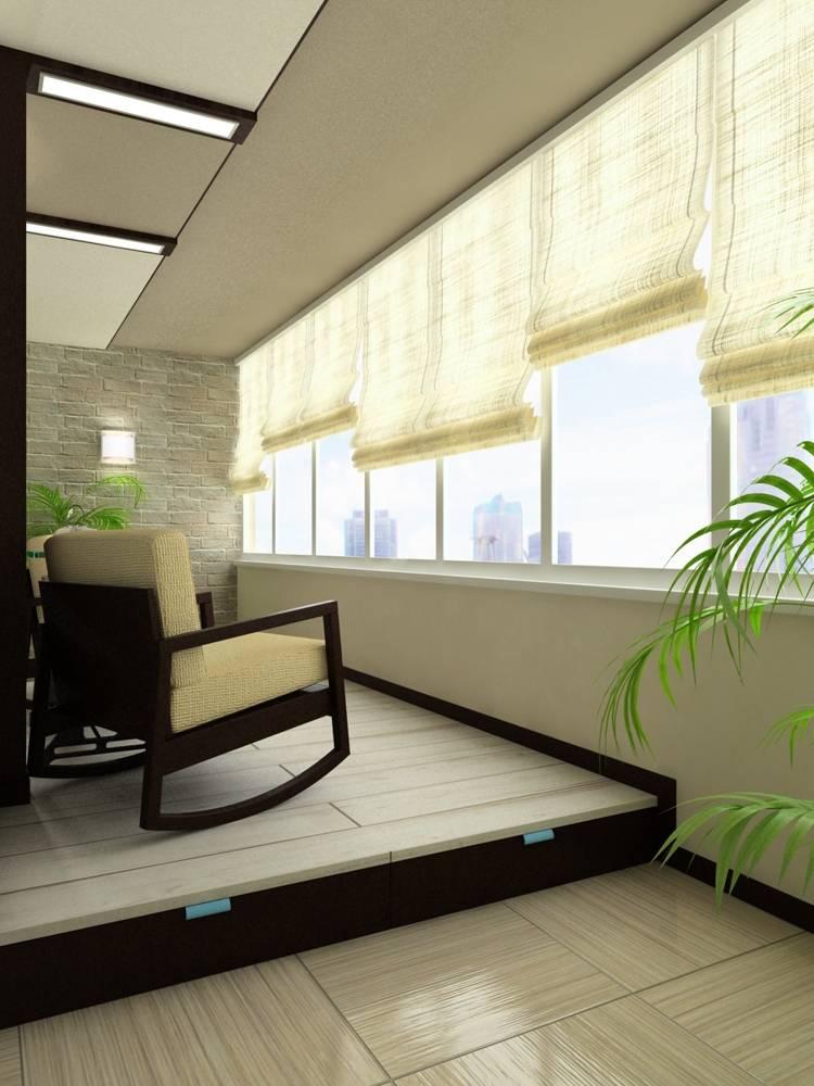 Маленький балкон дизайн фото.