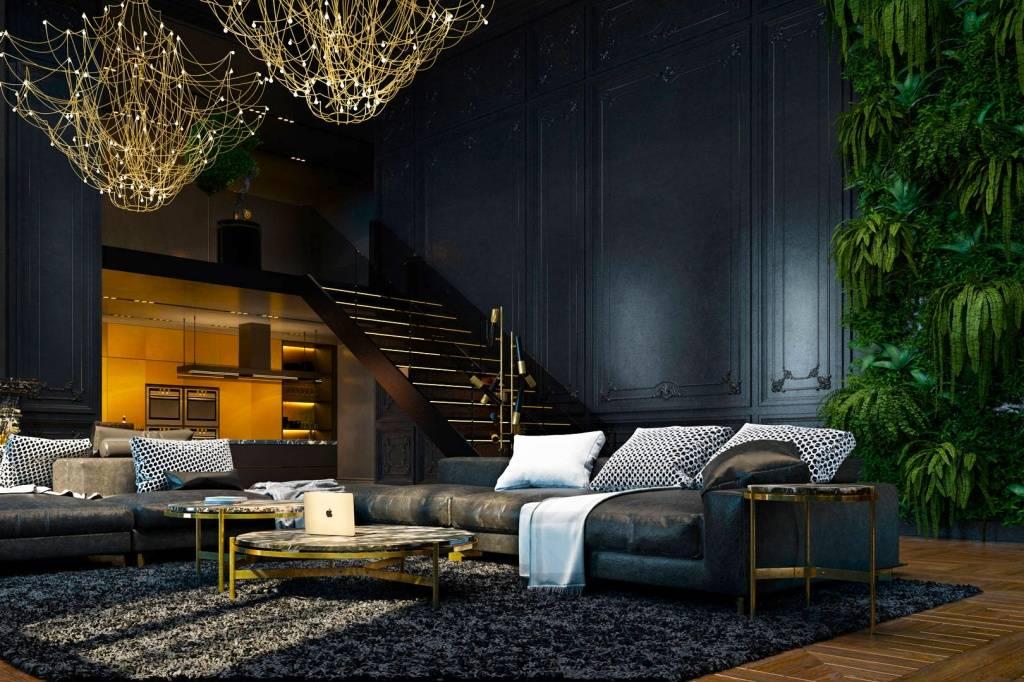 Премиум дизайн двухкомнатной квартиры