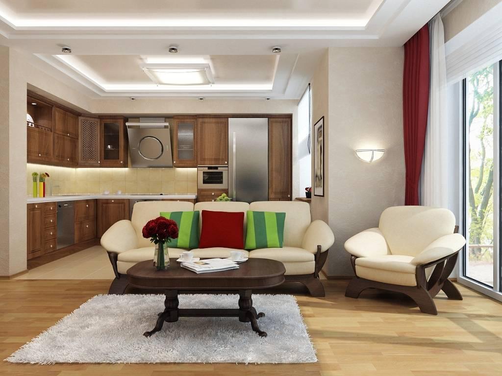 Дизайн гостиной таунхауса