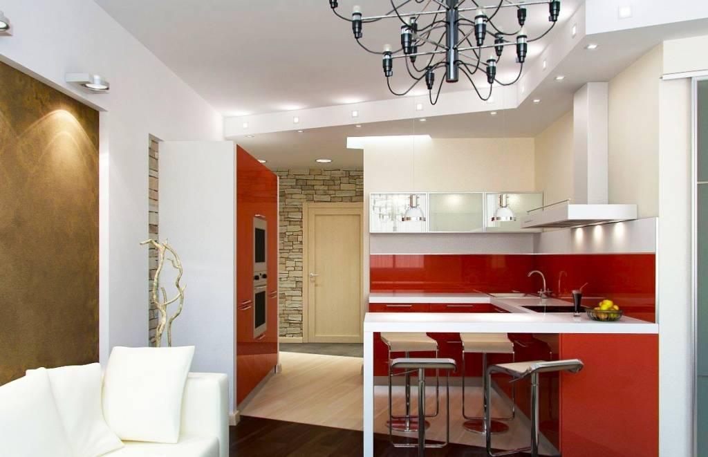 Двухкомнатная квартира - дизайн 65 м