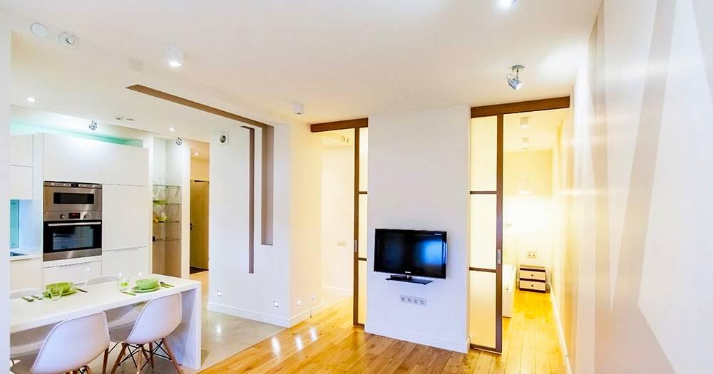Дизайн и планировка квартиры 65 квадратных метров